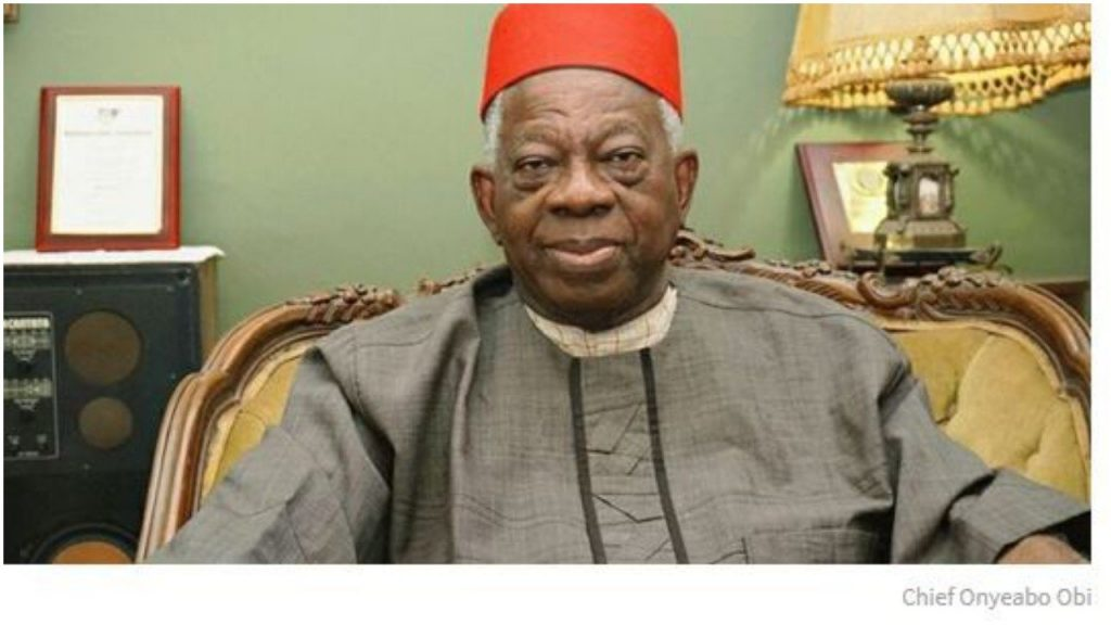Former Senator Obi is dead