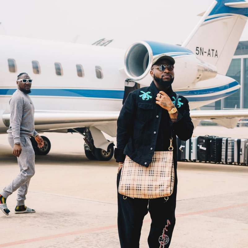 Davido reunites with second daughter