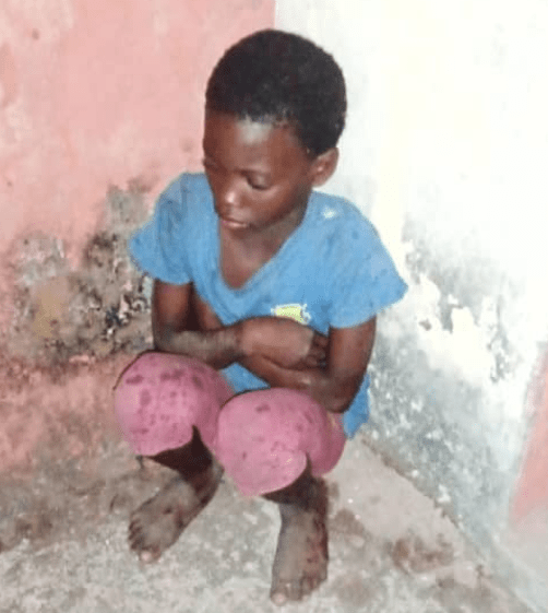 9-year-old orphan gets kicked out