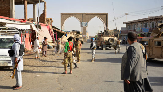 Rocket attack on Afghan capital