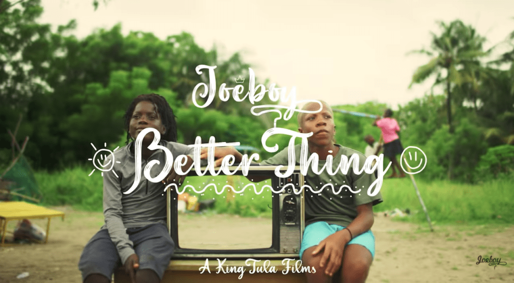 Joeboy – Better Thing