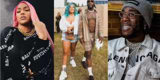 Stefflon Don Receives Flowers From Burna Boy